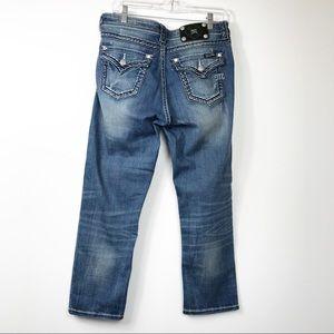 Miss Me Jeans Boyfriend Capri Destroyed 27